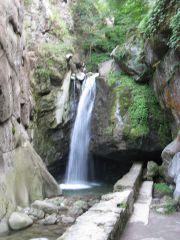 Костенски водопад, Траянови врата, Цари мали град