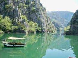 Езерото Матка, каньона на река Треска, Скопие